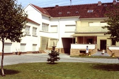 <h5>1980</h5><p>Blick auf die Fabrik in der Ludwigstrasse.</p>